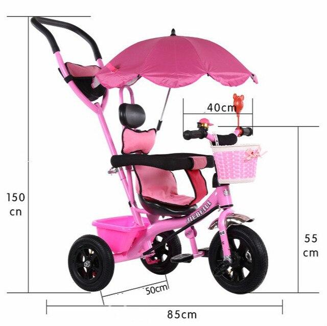 auto baby 1 jaar Mode Nieuwe Baby Kinderen Driewieler Zonnescherm Luifel Baby  auto baby 1 jaar
