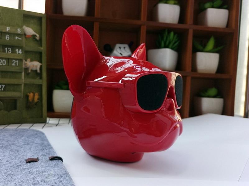 bull dog Nano Wireless Speaker Bulldog Bluetooth Speaker Outdoor Portable HIFI Bass Speaker Multipurpose Touch Control (11)