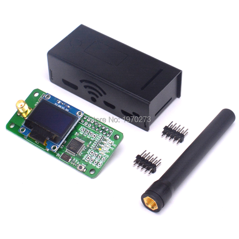 Hot Jumbospot UHF & VHF antenna + aluminum shell MMDVM hotspot Support P25 DMR YSF for raspberry pi(China)