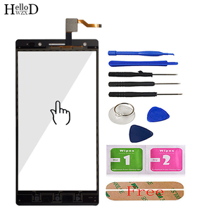 Image 3 - Передний сенсорный экран для мобильного телефона Lenovo PHAB 2 Plus, сенсорный экран, переднее стекло, дигитайзер, сенсорная панель, сенсорный экран, клейкие инструменты