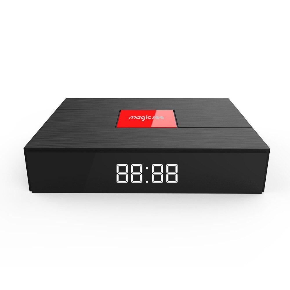 Magicsee C400 Plus Amlogic S912 Octa Core Box TV 3 + 32 GO Android 4 K Boîte de TÉLÉVISION Intelligente DVB-S2 DVB-T2 Câble Double WiFi Lecteur Multimédia Intelligent - 2
