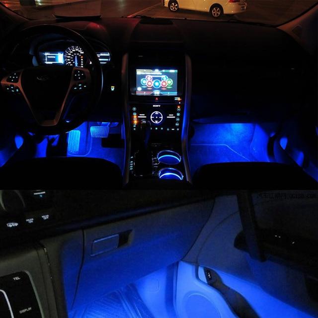 Auto styling Led Auto Sticker Accessoires Universele Blauwe Auto ...