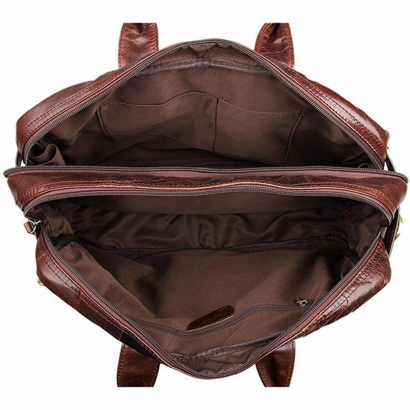 2017 luxo real genuíno couro Material Composição : Crazy Horse Leather