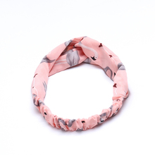 Sale 2018 Spring Solid new Korean Knot womens Headband fashion elastic hair band accessories