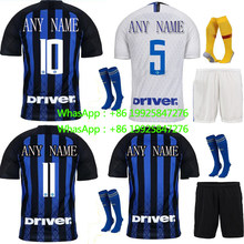 fca2f8ae2 AAA + best quality 2018 Inter Milan Soccer Jersey 18 19 football survete  For men kit