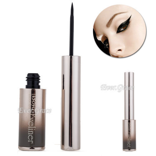 Makeup Black Smooth Eyeliner Liquid Eye Liner Pen Pencil Waterproof Cosmetics