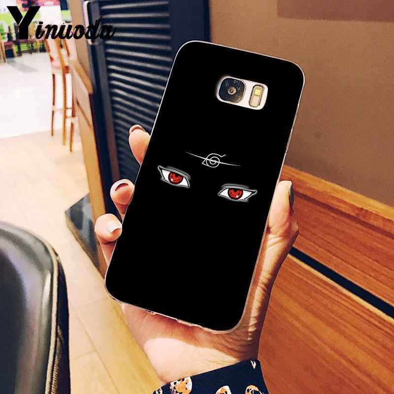 Yinuoda Hokage Naruto Kakashi Coque Shell Caixa Do Telefone para Samsung S9 S9 Plus S8 S8plus S7 S6 S5 Capa