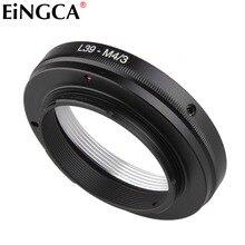 Leica için L39 Lens Mikro 4/3 M43 Kamera Lens adaptörü için Olympus Panasonic E PL2 E PL3 E PL5 E PM2 OM D E M5 II GF3 GH3 GH5