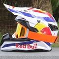 Alta qualidade motocicleta capacete protetor capacete de moto para mulheres e homens off road motocross capacetes com 1 Googles