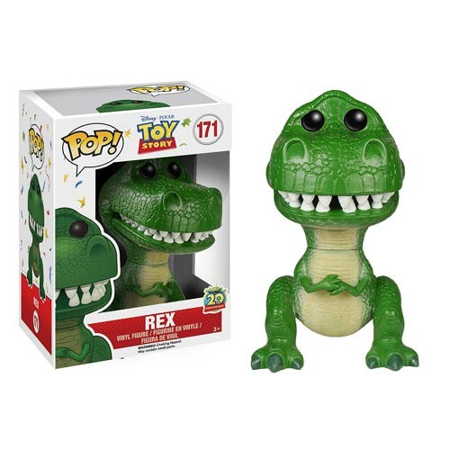 New Funko pop Original Toy Story Cartoon Rex Figure Collectible Vinyl Figure Model Toy with Original box  funko pop games illidan 14 pvc action figure collectible model toy 4 10cm kt2242
