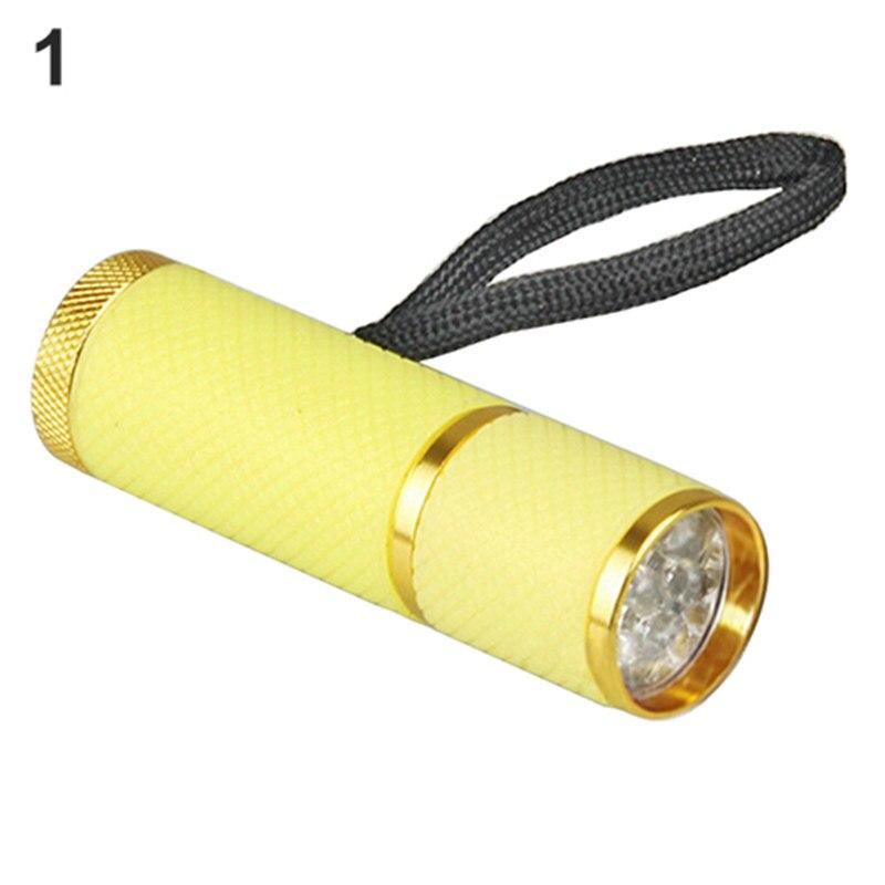 New Hot Sale Portable Mini 9 font b LED b font Nail Dryer UV Gel Nail