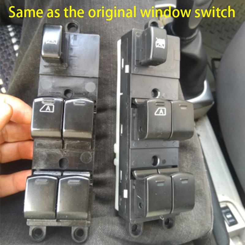 25401-BB60B Window Switch for Nissan Navara D40 2004-2016 25401EB30B, 25401-BR00B, 25401-JD001 2007 2008 2009 2010 2011