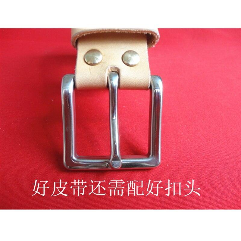 Never Rust  Stainless Steel Belt Buckle Pin Buckle Accessories 41mm Inside Width Cowboy Belt Buckle Preventing Allergies W012