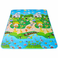 Baby Play Carpet EVA Mat 180 150 1cm Double Sided Baby Play Mat Alfombra Infantil Baby