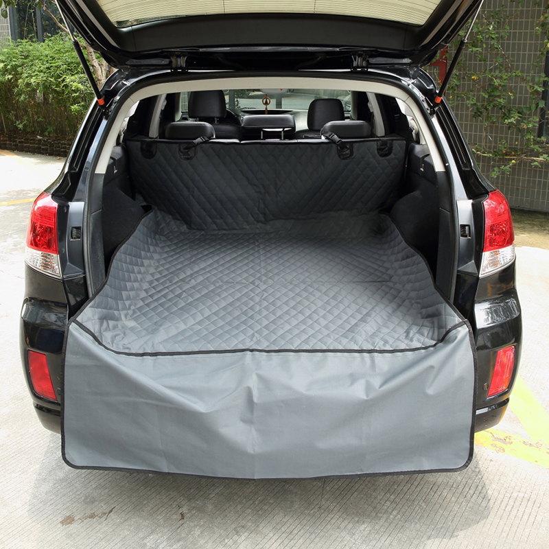 Auto Car Trunk Soft Back Mat Cover For Pets Dual-use Waterproof Dog Seat Covers Non-slip Car Back Hammock Pet Mats Seat Cushion