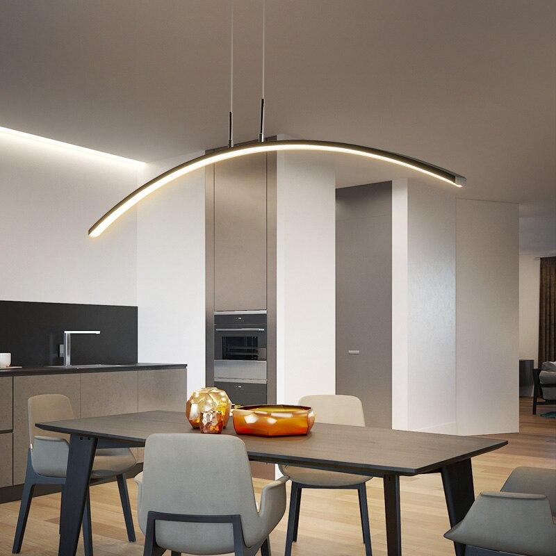 Pingente Luzes LED Escurecimento Lâmpadas de Pendente Para sala de Jantar cozinha Cabo de Suspensão Luminária Nova Chegada Moderna Lâmpada Pendurada