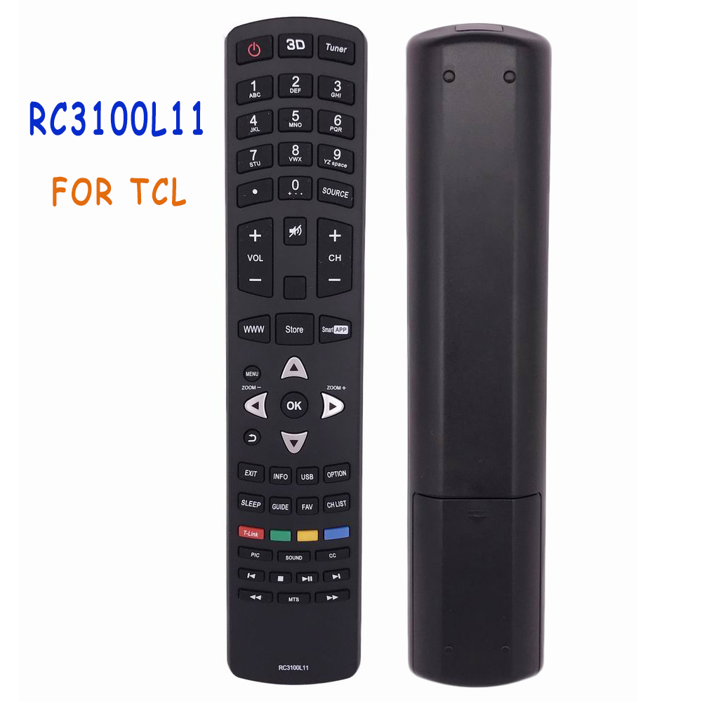 New Original/Genuine RC3100L11 Remote Control For RCA For TCL TV LED LCD 3D TV With Smartapp TV Remoto Controle Fernbedienung