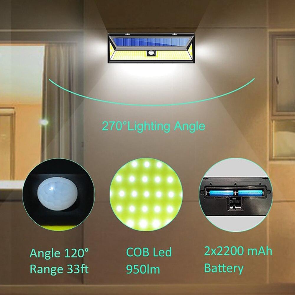 4 pacote litom xg888 180 leds luz