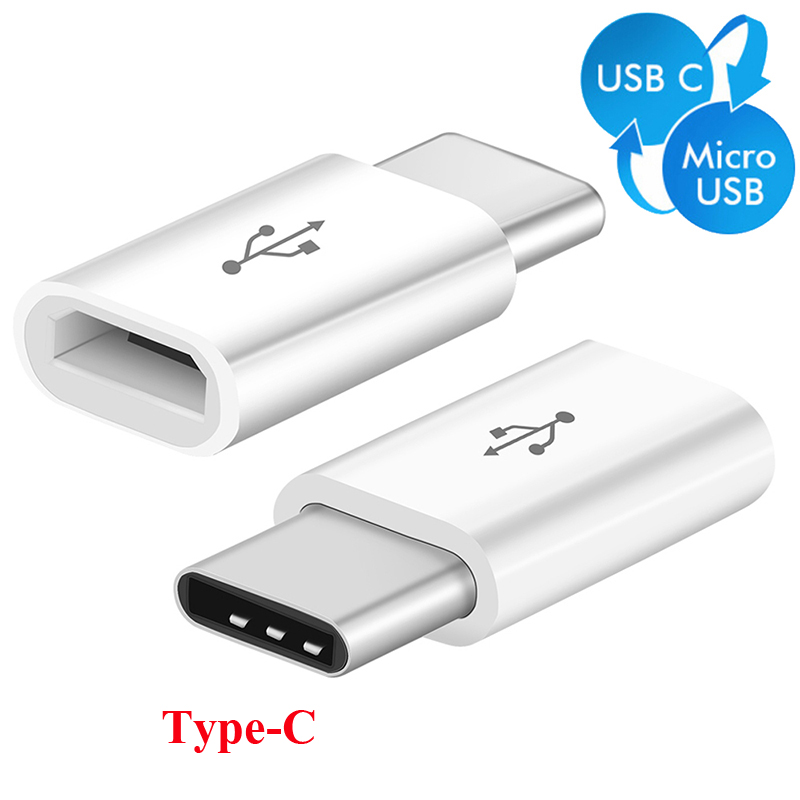 Micro USB To Type C Converter Original Type-C Data Charging Cable Adapter Fast Charger Huwei P20 Pro P 20 P10 P9 Lite Mate 9 10