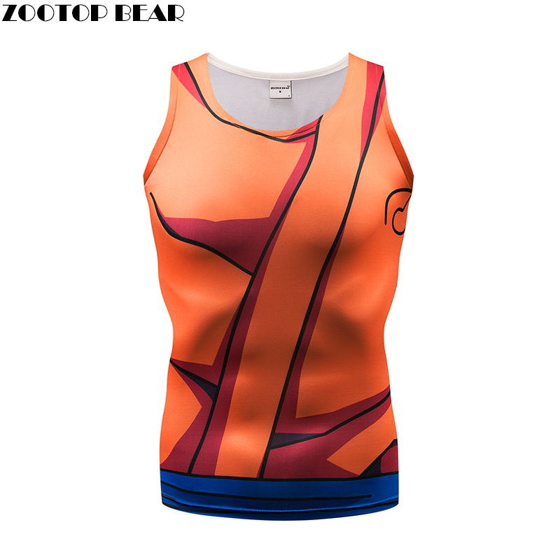Tank Tops Men Women Vest Naruto Male singlet Anime Tops&Tees Fitness Tight Casual Bodybu ...