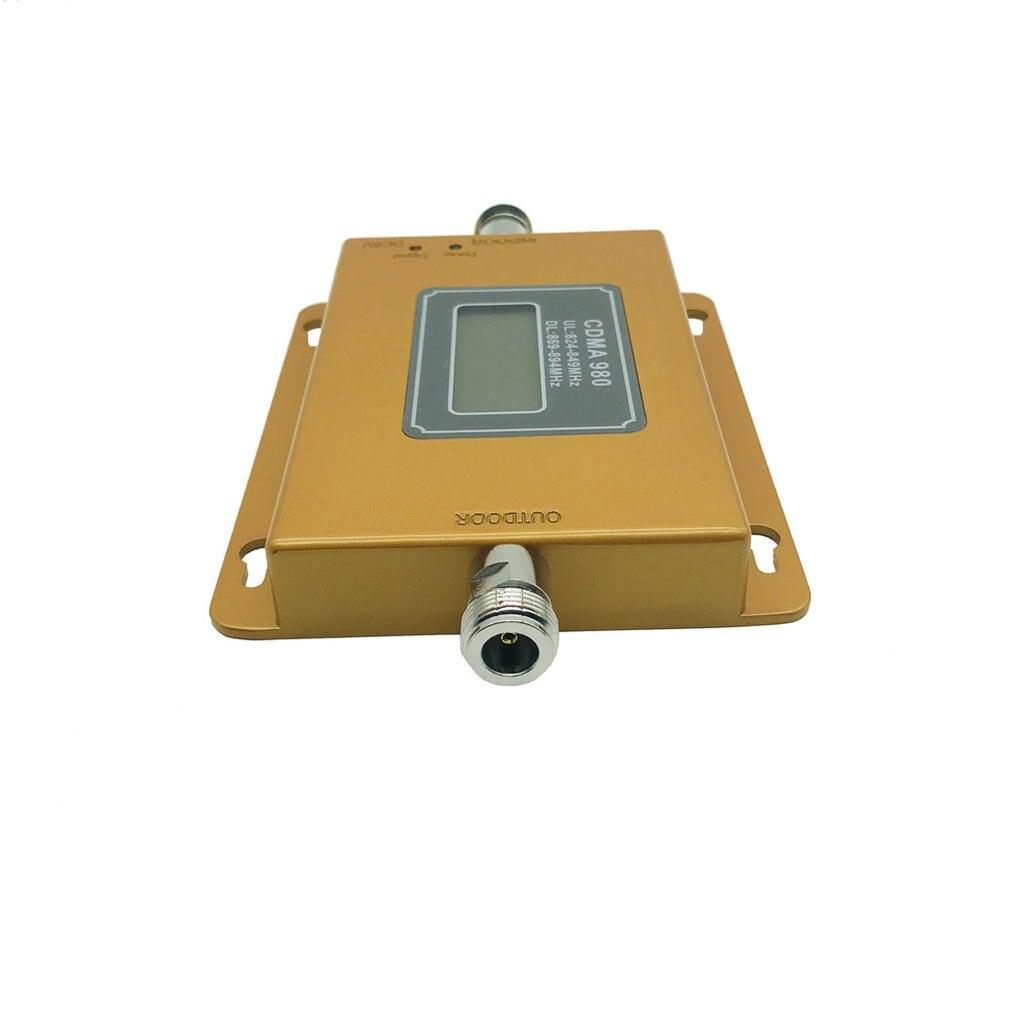 Pequeña pantalla CDMA de 850 MHz teléfono móvil teléfono señal mejora amplificador - 4