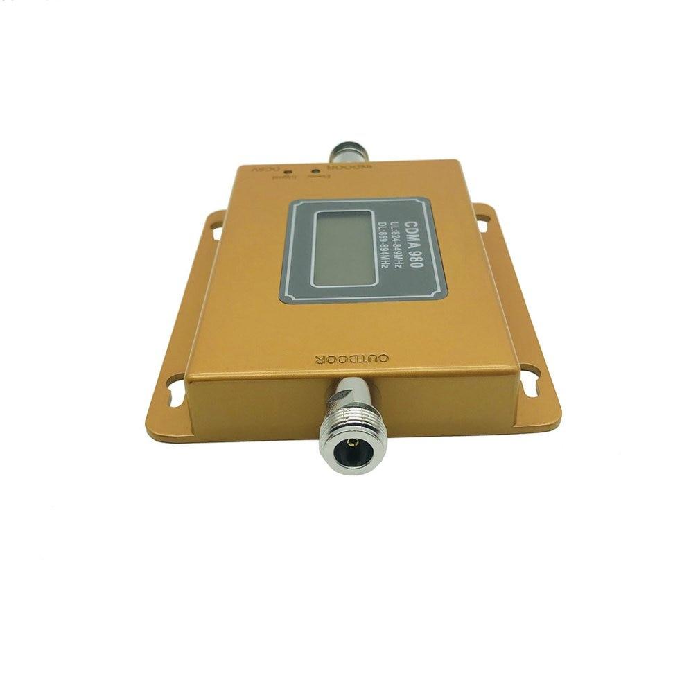 Petit amplificateur d'amélioration de signal de téléphone portable CDMA 850 MHz d'affichage - 4