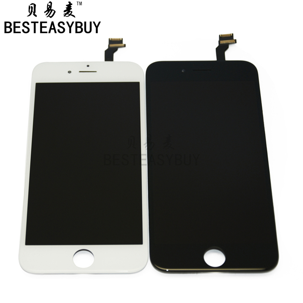 BESTEASYBUY AAA quanlity For iPhone 6 Plus LCD Display touch screen digitizer 5.5 inch assembly in Black & White Free Shipping