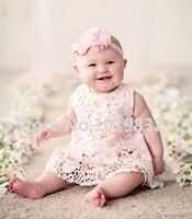 Fabulous balanço Top Bloomer Set menina princesa rosa roupa de aniversário