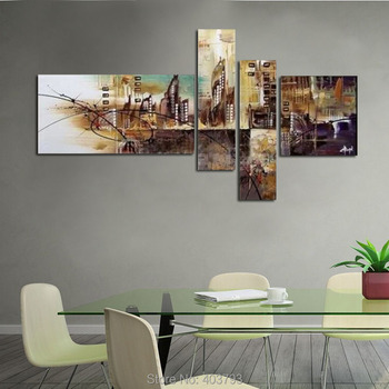 HUGE MODERN ABSTRACT WALL DECOR ART OIL PAINTING ON CANVAS ART NO FRAMED HOME DECORATION