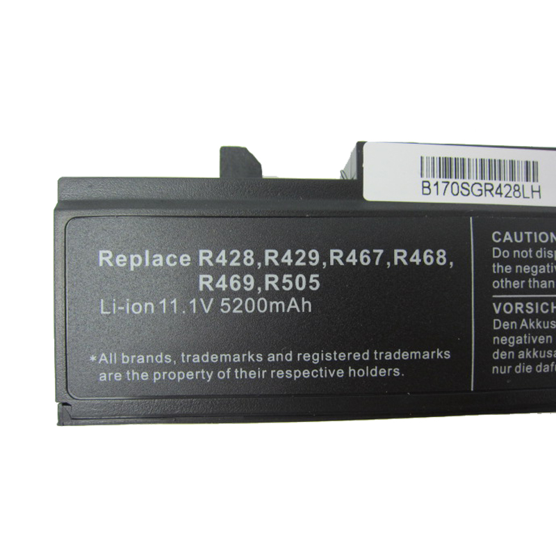 HSW Laptop Batterij voor SAMSUNG R580 R540 R530 R429 R520 Batterij - Notebook accessoires - Foto 4