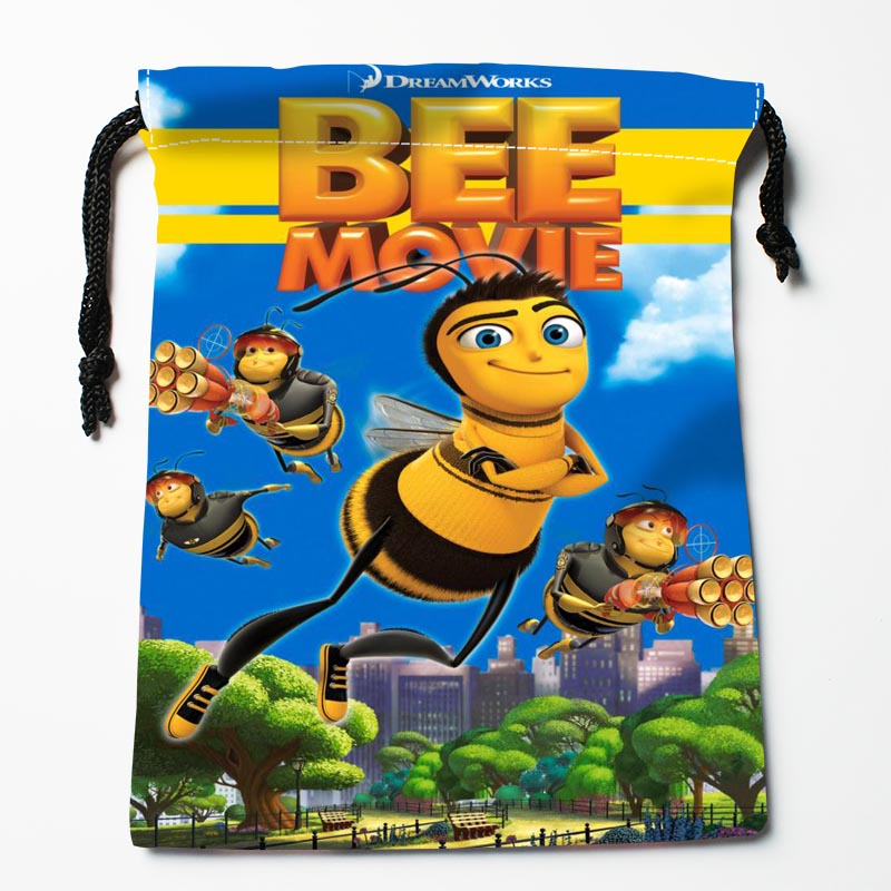 Custom Maya The Bee Movie Drawstring Bags Custom Storage Bags Storage Printed Gift Bags More Size 27x35cm Compression Type Bags