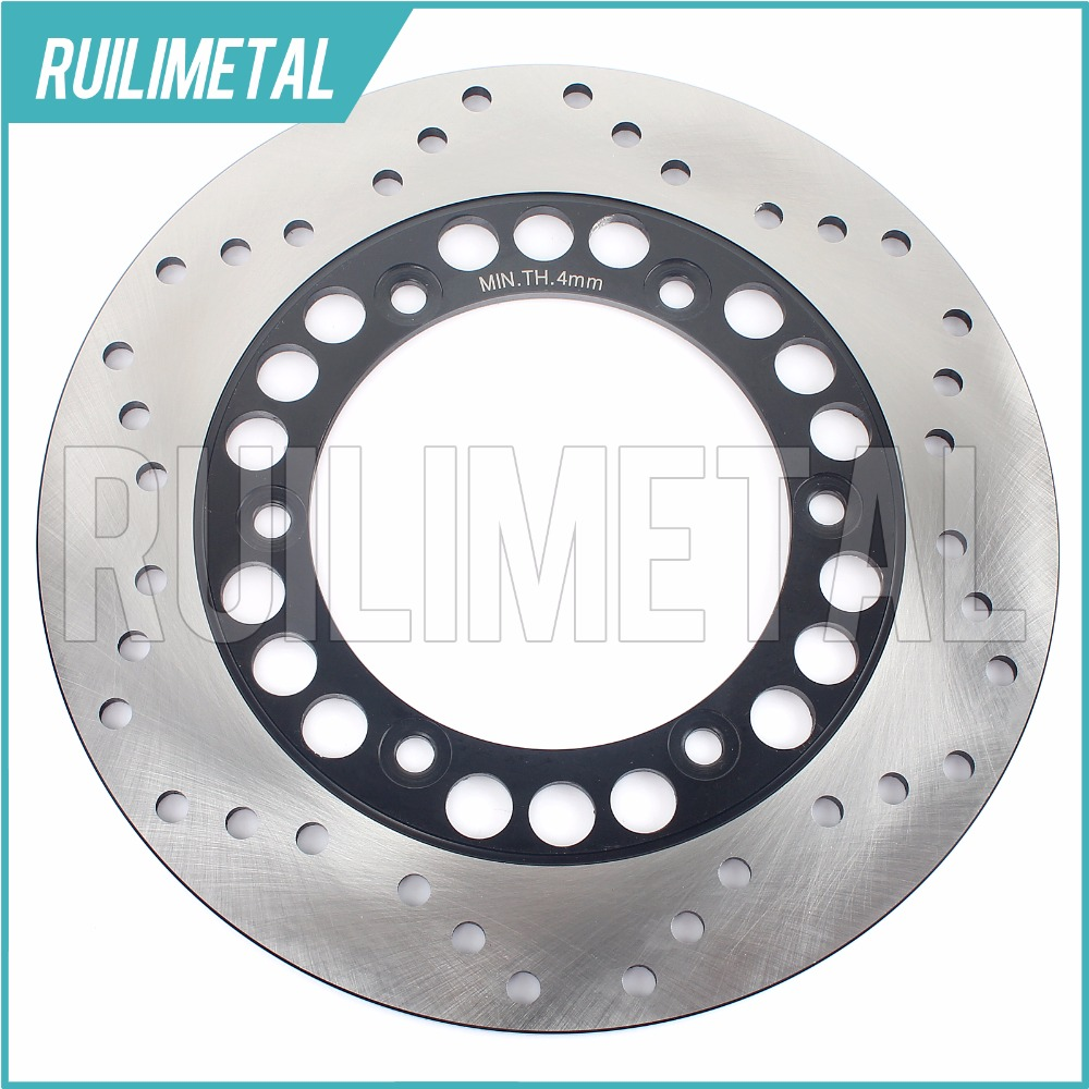 Rear Brake Disc Rotor for FZS 600 S Fazer 2001-2003 SRX 600 XJ 600 Diversion S XJ 600 N 91 92 93 94 95 96 97 98 99 00 01 02 03 94 95 96 97 98 99 00 01 02 03 04 05 06 new 300mm front 280mm rear brake discs disks rotor fit for kawasaki gtr 1000 zg1000