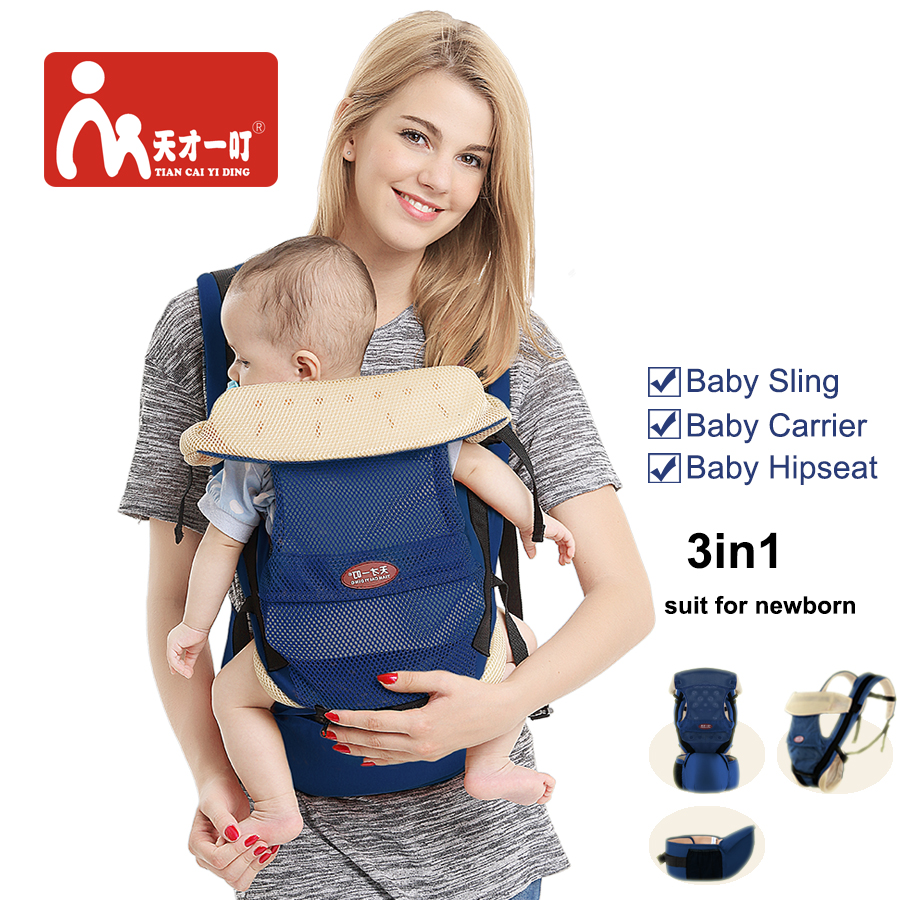 Breathable Ergonomic Carry Cot For Infant Baby Carrier Kangaroo Cotton Baby Sling Carrying Children Wrap hot selling baby carrier soft infant wrap breathable infant hipseat toddler sling carrier for newborn carrying slings for babies
