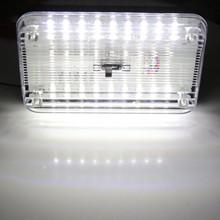 Auto 36 LEDs Car Dome Light 36 SMD LED Rectangular Ceiling Lamp Interior-White   Car Top Lighting  Car Top Lights New