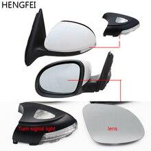 Originele auto onderdelen Hengfei spiegel glazen lens spiegel richtingaanwijzer voor Volkswagen Tiguan