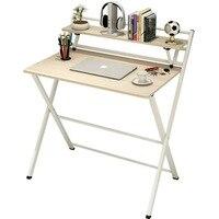 85x61x93 белый серый Тетрадь офис кровать лоток ноутбука стенд прикроватной тумбочке Меса стол компьютерный исследование складной деревянный