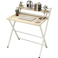 85x61x93 White Gray Notebook Office Bed Tray Laptop Stand Bedside Mesa Desk Computer Study Folding wood Table