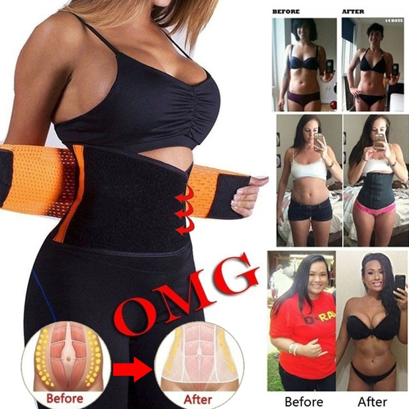 Body Shaper Girdle Adjustable Hot Power Women Waist Trainer Belt Fashion Unisex Sport Slimming Belt Helpful Fat Burning