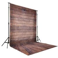 Коричневый деревянный пол фоны Studio Фон фотографии Новорожденные для фотосессий для студии d-4926