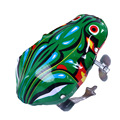 Hot Cute Classic Clockwork Toy Iron Frog Automatic Jumping Frog Educational Toys For Kids Childern Toys