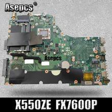 Asepcs X550ZE scheda madre Del Computer Portatile Per Asus X550ZE X550ZA X550Z X550 K550Z VM590Z A555Z K555Z X555Z di Prova originale mainboard