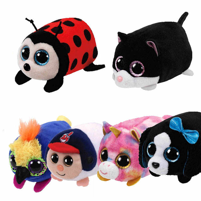 2113924d840 Detail Feedback Questions about TY Beanie Boo teeny tys Plush Icy the Seal  9cm Ty Beanie Boos Big Eyes Plush Toy Doll Purple Panda Baby Kids Gift on  ...
