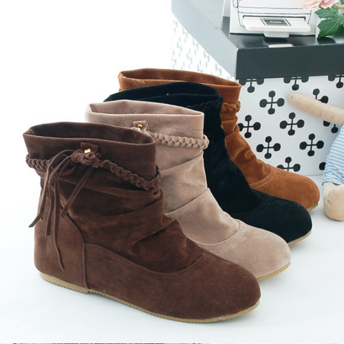Popular Slouch Ankle Boots-Buy Cheap Slouch Ankle Boots lots from ...