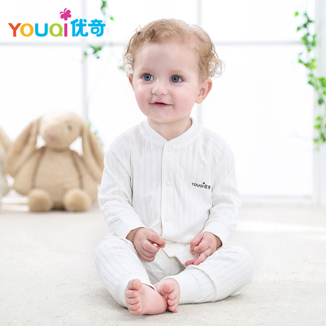 b4762dd17957 YOUQI Lovely Striped Baby Clothes Baby Boy Clothing Set Girl Tops Pants  Suit 6 9 Months Toddler Infant Outfits Clothes For Baby