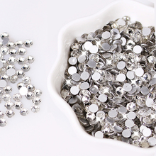 3d Nail Rhinestones And Gems Flatback Round Glass Rhinestones For Clothing Diy Wedding Rhinestone Decoration Accessories R001 holuns r001