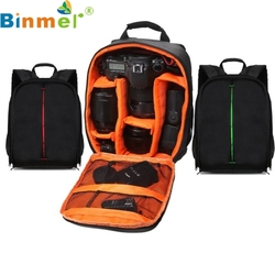 Binmer Simplestone 1PC Camera Backpack Bag Waterproof DSLR Case for Canon for Nikon for Sony 0205