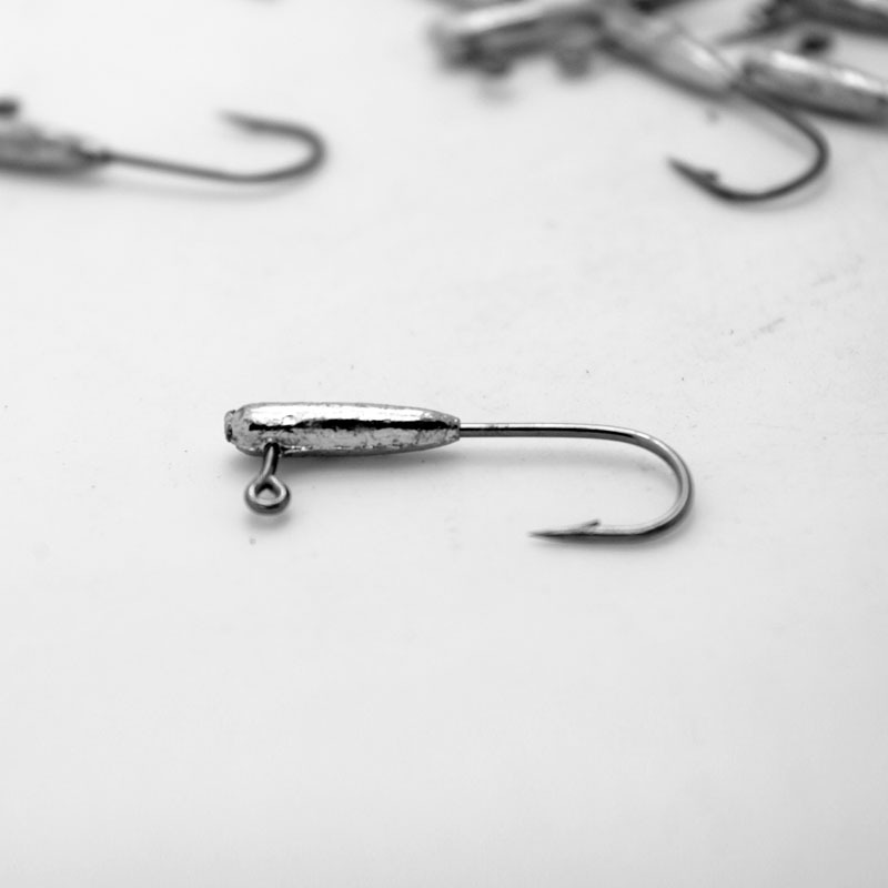 где купить Japan Jigs 1g 2g 3g Jig Head Professional Small Soft Lure Bait Texas Rig Fishing Hooks 7-10 Pieces Bag по лучшей цене
