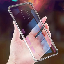 Силиконовый ТПУ чехол для телефона samsung Galaxy S10 S9 S8 Plus S10E M10 прозрачная подушка безопасности противоударный чехол для samsung Note 8 9 M30 M20(China)