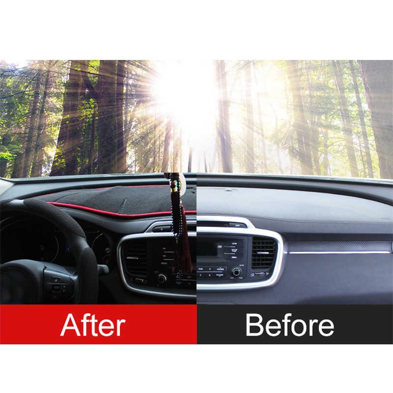 لكيا سورينتو برايم 2015 2016 2017 2018 2019 UM غطاء لوحة سيارة سادة ظلة داشمات حماية السجاد المضادة للانزلاق اكسسوارات