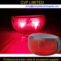 LED outline marker lamps clearance end outline position marker lamps lights E4 approved. RED trailer parts